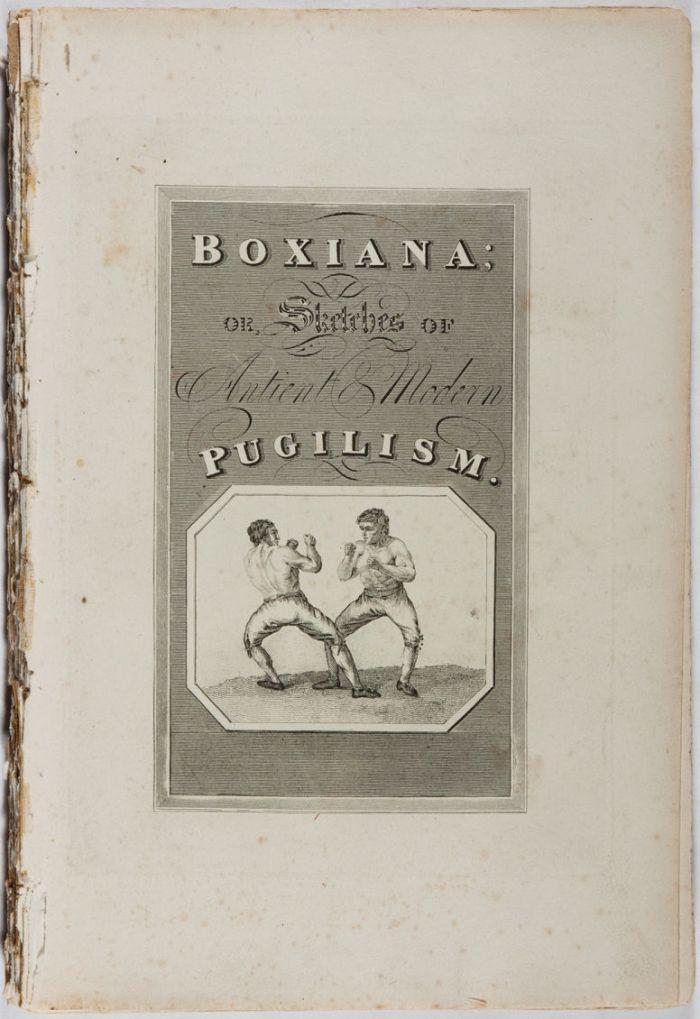 El primer volumen de Boxiana.