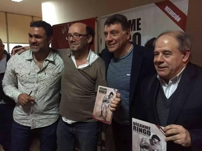 Bonavena Jr., Brindisi, Fernández Moores y Guiñazú.