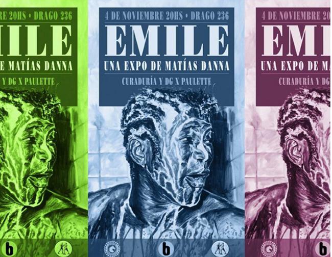 La muestra Emile se expone en Casa Brandon (Drago 236, CABA).