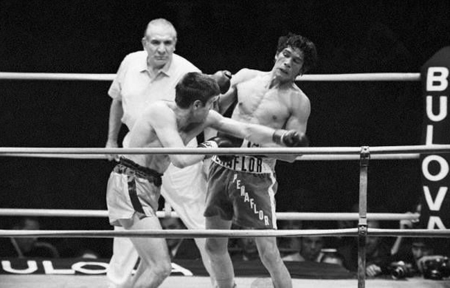 Peñaflor primero le dijo que no a Monzón; luego lo patrocinó como campeón.