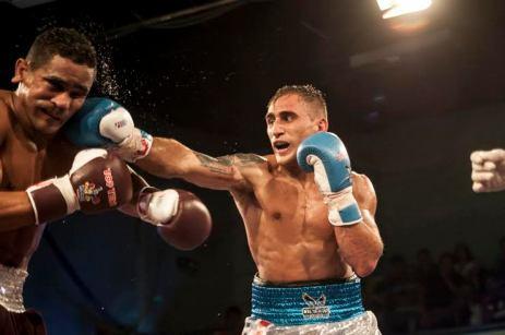 Alberto Palmetta (69 kg) sumó su tercera victoria consecutiva ante Gabriel Maestre.