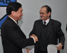 Bisbal y el chino Wu, hombres fuertes de AIBA, promotores de la entrada de profesionales en JJ.OO.
