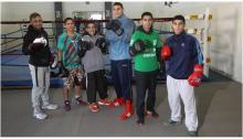 El equipo olímpico a pleno (Gentileza La Nación).