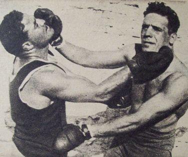 Chiquito Galtieri, el boxeador que ganó el primer duelo hace 95 años.